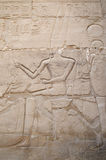 Сброс в Karnak, Египте Стоковое Фото