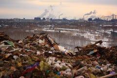 Сброс города Стоковое Фото