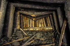 Сброс давления солевого рудника стоковое изображение
