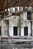 сброшенное здание стоковые изображения rf