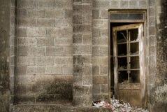 сброшенное здание стоковая фотография