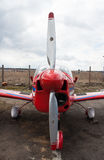 сброшенный авиаполем пропеллер сброса старый плоский Стоковое фото RF