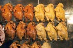сбывание зажаренное в духовке цыпленком Стоковая Фотография RF