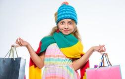 Сбывание и рабат Дело торгового центра выгодское черная покупка пятницы Носка стороны девушки милая связала шляпу осени и стоковое фото rf