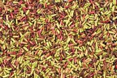 сбывание красного цвета рынка cloves зеленое Стоковые Изображения RF
