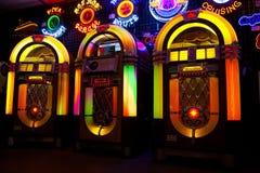 Сбывание музыкального автомата Стоковая Фотография