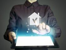 сбывание ренты домов квартир имущества реальное Стоковое Изображение