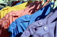 Сбывание улицы одежд Стоковые Изображения