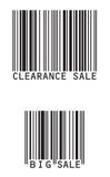 сбывание barcode Стоковое Изображение RF
