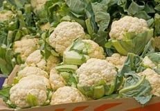 сбывание cauliflowers Стоковое Фото