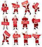 сбывание santa стоковые изображения