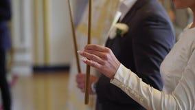 Свадебная церемония в церков акции видеоматериалы