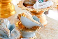 Свадьба раковины раковины стоковая фотография