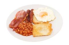 Сваренная еда завтрака стоковая фотография