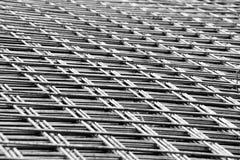 Сваренная сетка стального подкрепления Стоковые Изображения RF