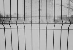 Сваренная ячеистая сеть черно-белая Стоковые Изображения RF