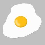 сваренное яичко иллюстрация вектора