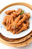 Сваренные китайцем ноги цыпленка Стоковое Изображение