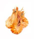 Сваренные unshelled креветки тигра Стоковые Изображения