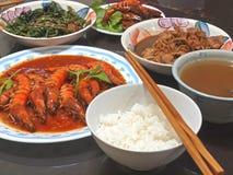 сваренный дом еды Стоковая Фотография
