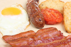 сваренный завтрак Стоковое Изображение