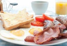 Сваренный завтрак стоковая фотография rf
