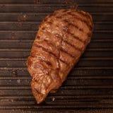 Сваренный стейк мяса лошади стоковое изображение