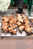 Сваренный цыпленок BBQ Стоковое Фото