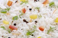 Сваренный Basmati рис стоковые фото