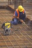 Сваривая angled арматура для бетона усиливая 5 Стоковые Изображения