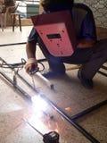 сварить welder Стоковое фото RF