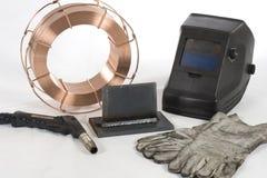 сварка вспомогательного оборудования стоковые фото