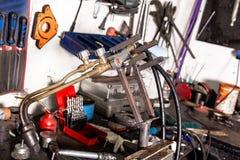 Сварочный аппарат баллона Autogen Стоковая Фотография