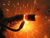 Сварщик газа профессии Стоковое Изображение