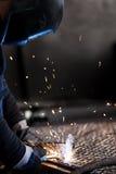 Сварщик Стоковая Фотография RF