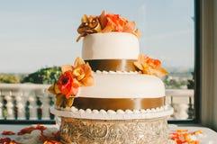 Свадебный пирог ленты Брайна Стоковая Фотография