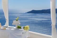 Свадебный пирог и Calla Стоковое Изображение RF