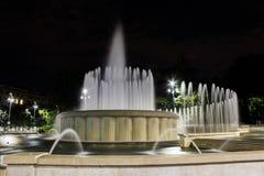 Свадебный пирог фонтана Стоковая Фотография RF
