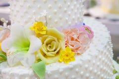 Свадебный пирог Стоковые Изображения RF