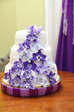 Свадебный пирог Стоковое фото RF