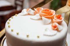 Свадебный пирог Стоковая Фотография