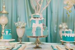 Свадебный пирог Стоковые Изображения