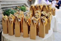 Свадьба благоволит к подарку для гостя Стоковое Фото