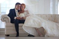 Свадьба, жених и невеста, влюбленность Стоковые Изображения