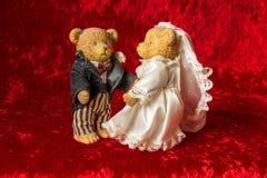 Свадьба игрушечного Стоковые Фотографии RF