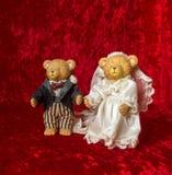Свадьба игрушечного Стоковое Фото