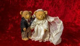 Свадьба игрушечного Стоковое Изображение