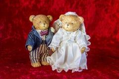 Свадьба игрушечного Стоковая Фотография