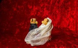 Свадьба игрушечного Стоковое Изображение RF