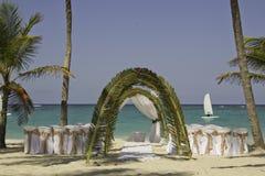 Свадьба на пляже Стоковые Фотографии RF